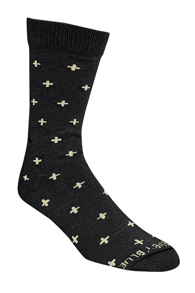 United By Blue - Byers Bartrams Sock Black Cross - Socks
