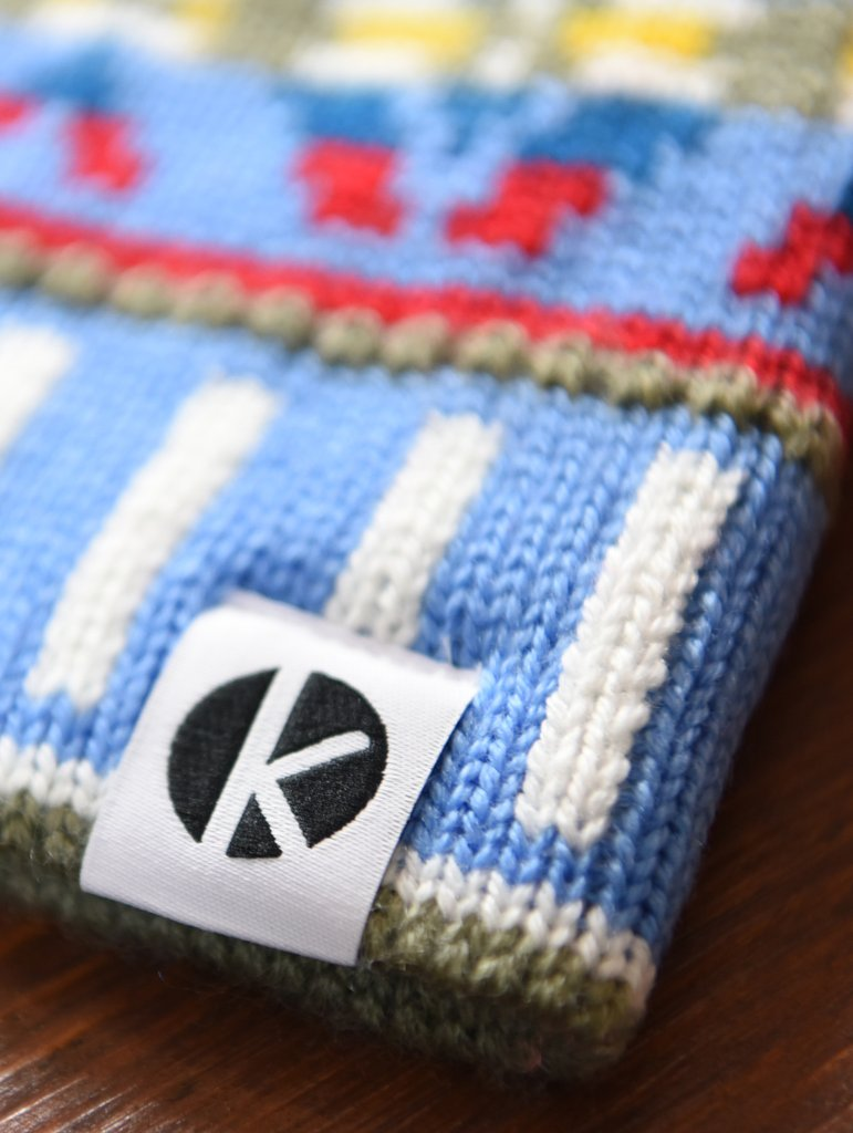 K-nit Cormack Bobble Beanie made from Merino Wool | TheOutdoorBoutique.com