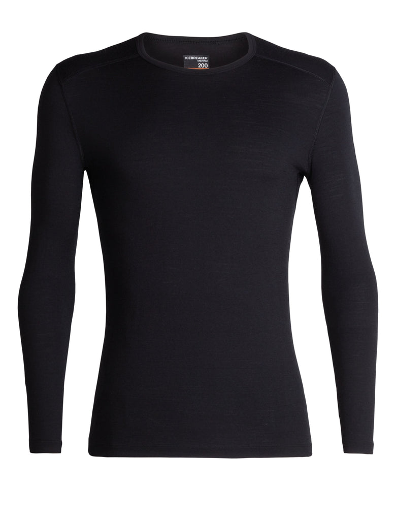 Icebreaker - Men's 200 Oasis Long Sleeve Crewe - Merino base layer