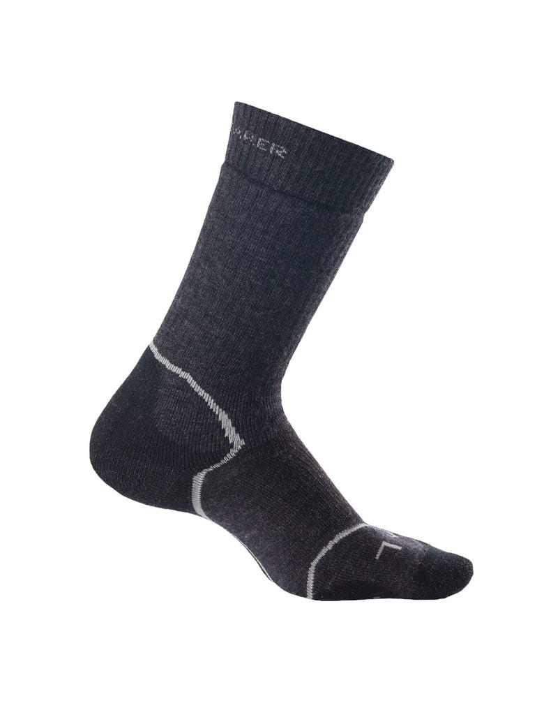 Icebreaker Socks - Merino Wool Hiking Socks - Women's Hike+ in Grey