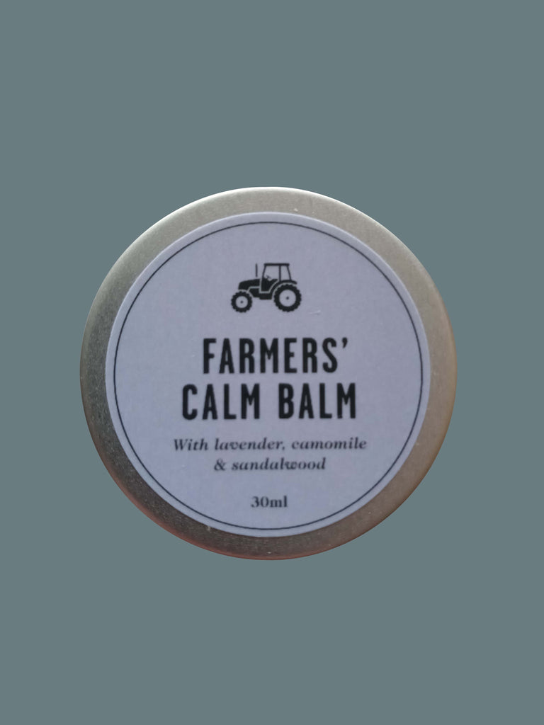 Farmers' Welsh Lavender - Calm Balm (30ml) - Natural Relaxing Lotion