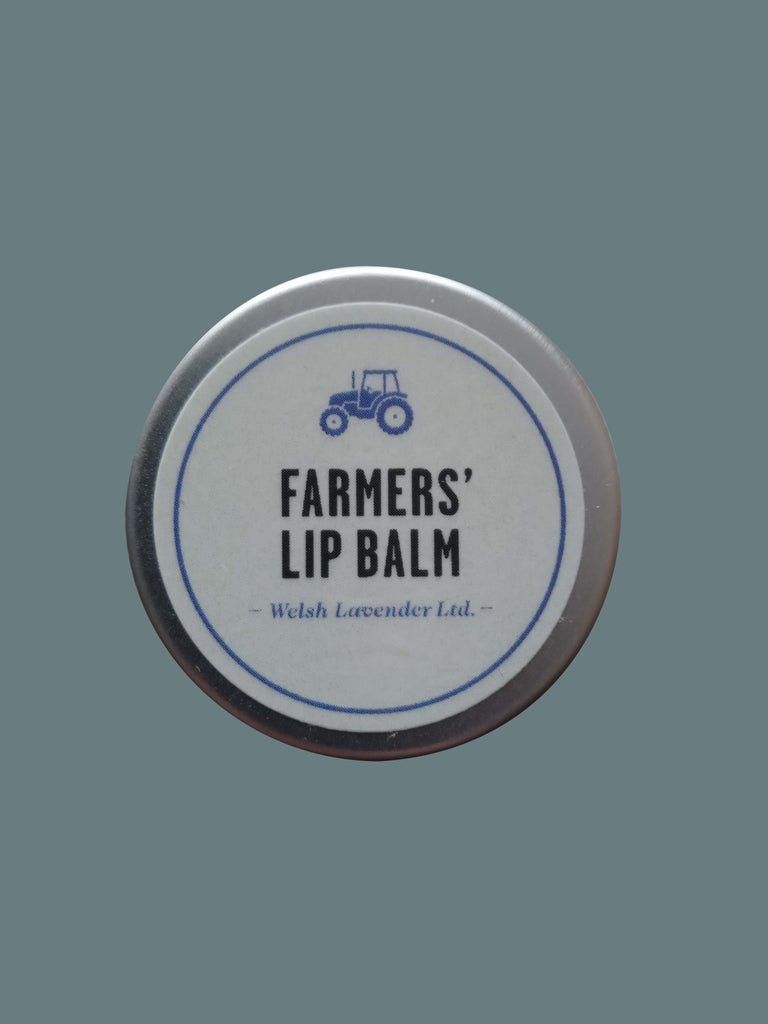 Farmers' Welsh Lavender - Lip Balm 15g - Natural Skin Care