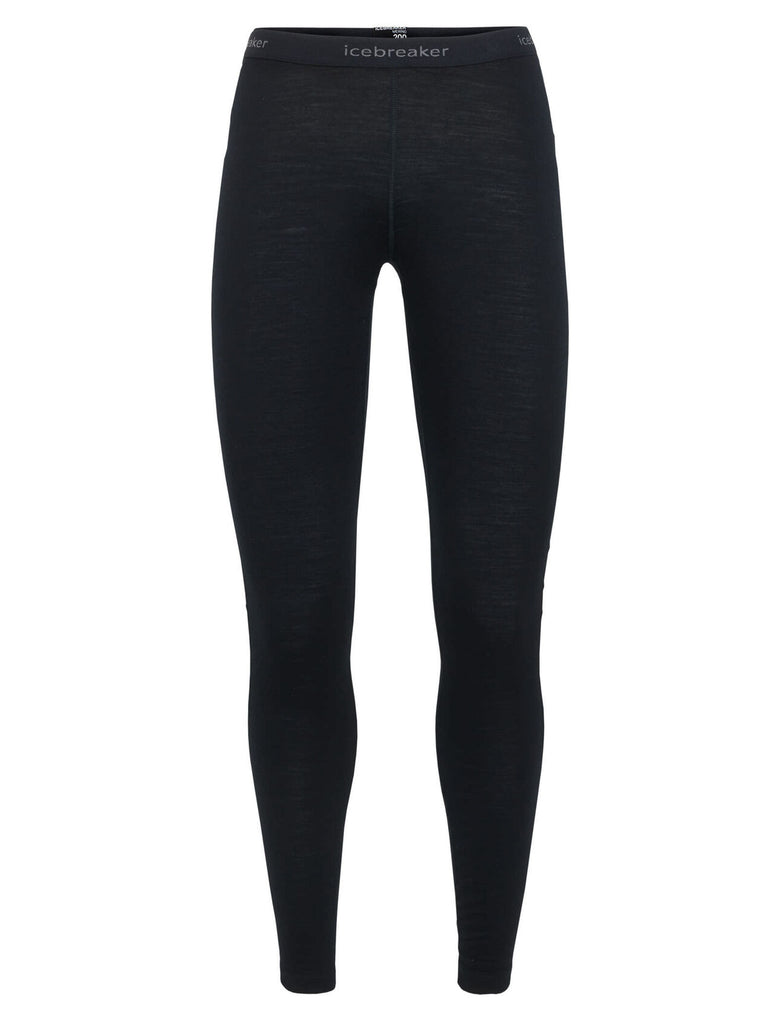 Icebreaker womens leggings in black
