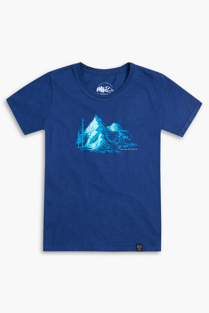United By Blue - Kids Peak T Shirt | TheOutdoorBoutique.com