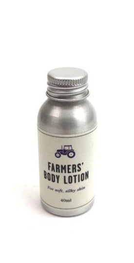 Farmers' Welsh Lavender- Natural Body Lotion - Travel Size (40ml)