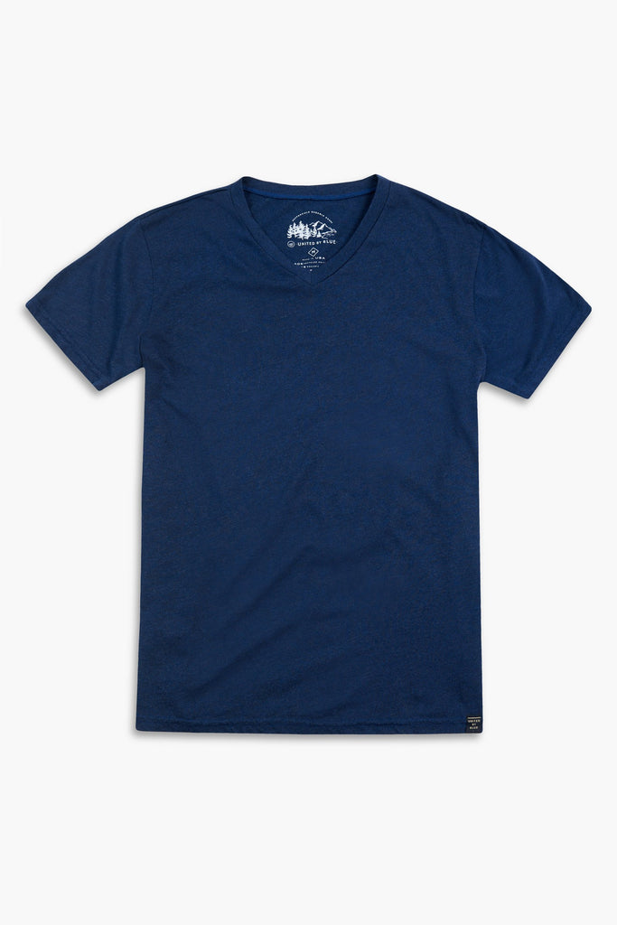 United By Blue - Mens Standard V-Neck Tee - T-Shirts