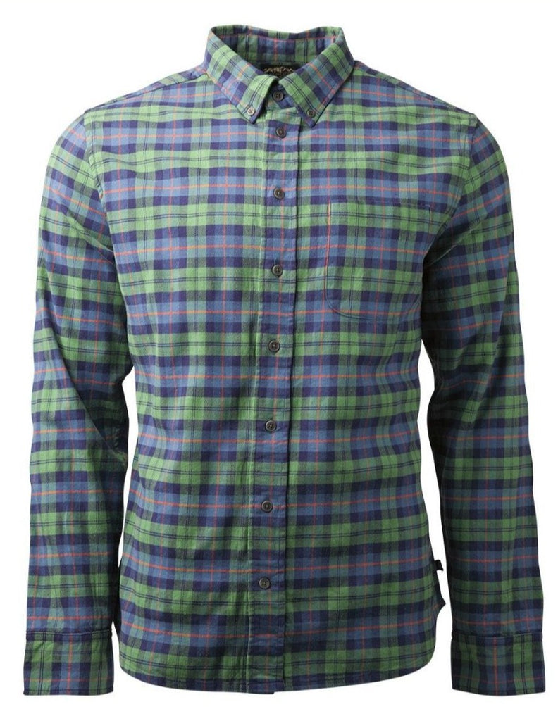 United By Blue - Mens Pitchstone Plaid Shirt - Sustainable Mens Shirts