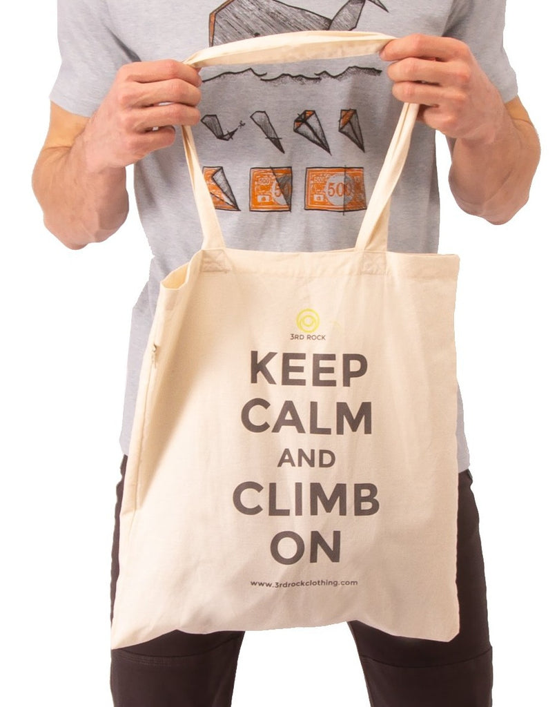 3rd Rock clothing - Keep Calm Organic Cotton Tote Bag - Accessories