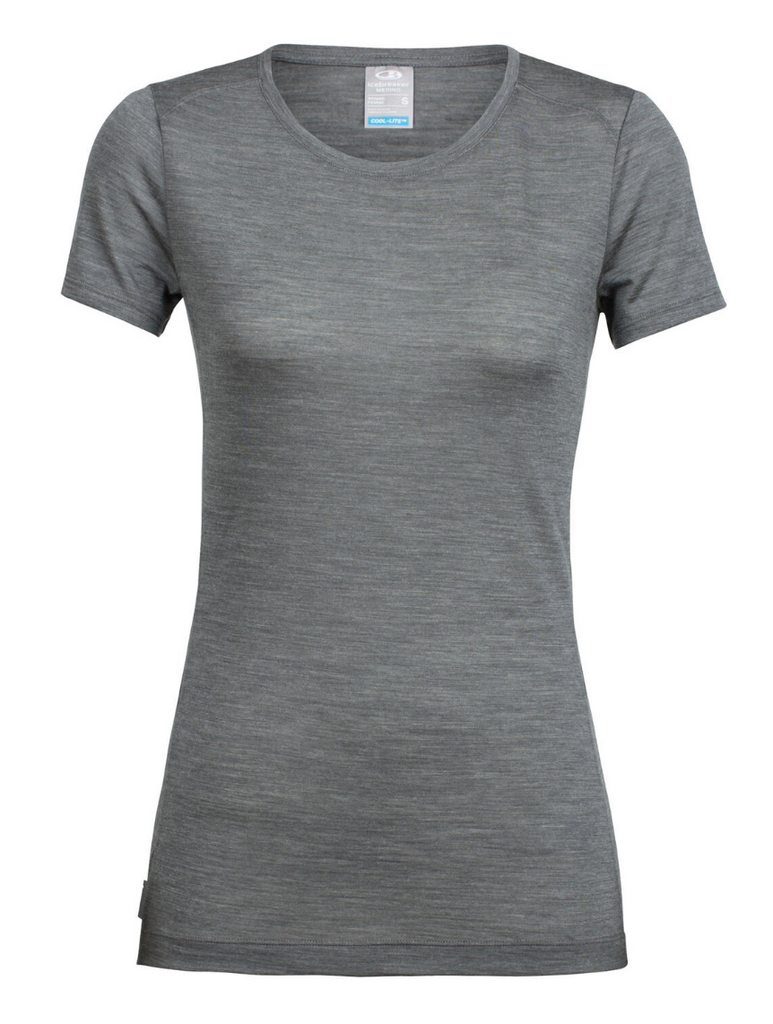 Icebreaker - Women's Sphere Cool lite Short Sleeve Low Crewe - Merino Base Layer