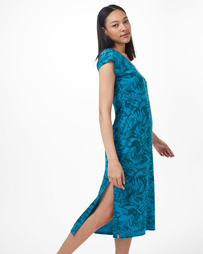Casual Blue Maxi Dress - Pipa By Tentree