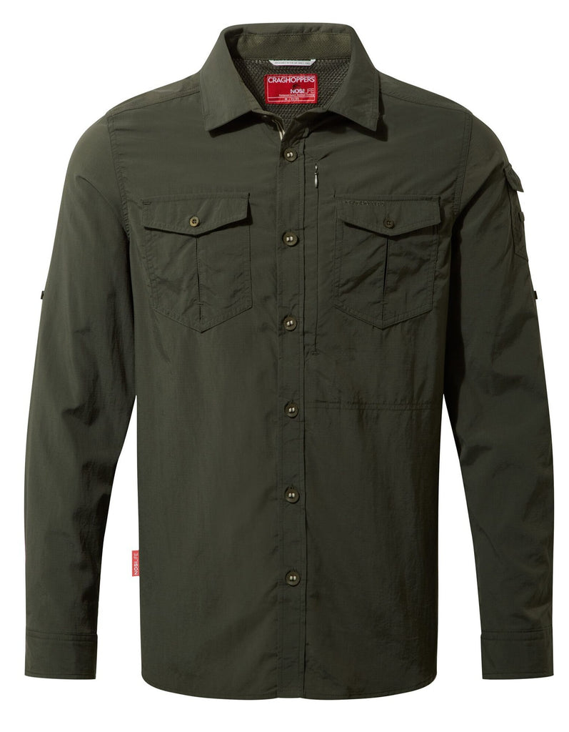 Craghoppers - Mens Nosilife Adventure LS Shirt
