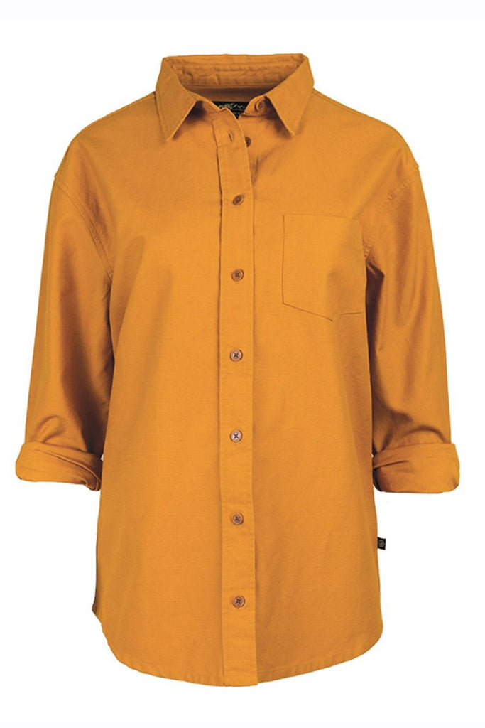 United By Blue - Womens Cottonwood Canvas Shirt
