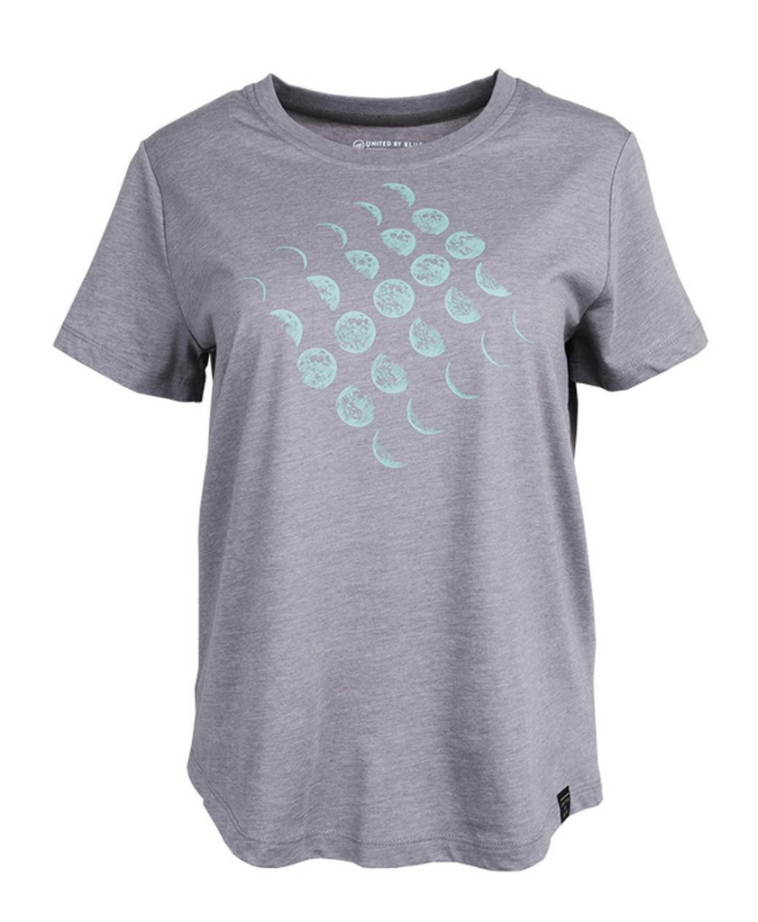 United By Blue - Womens Moon Cycle Tee - T-Shirt