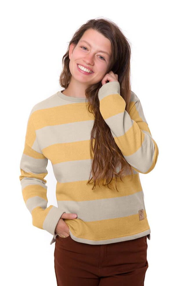 Bleed - Women's Captains Sweater Yellow - Jumper