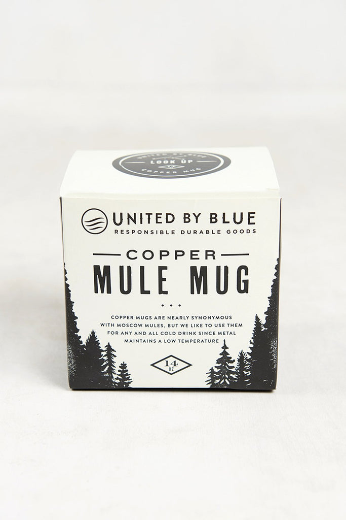 United by Blue Mountain Peak Copper Mug 14oz | TheOutdoorBoutique.com