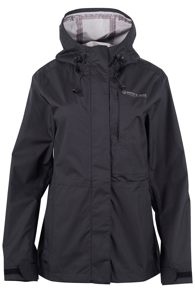 United By Blue - Waterproof Jacket for women - Black