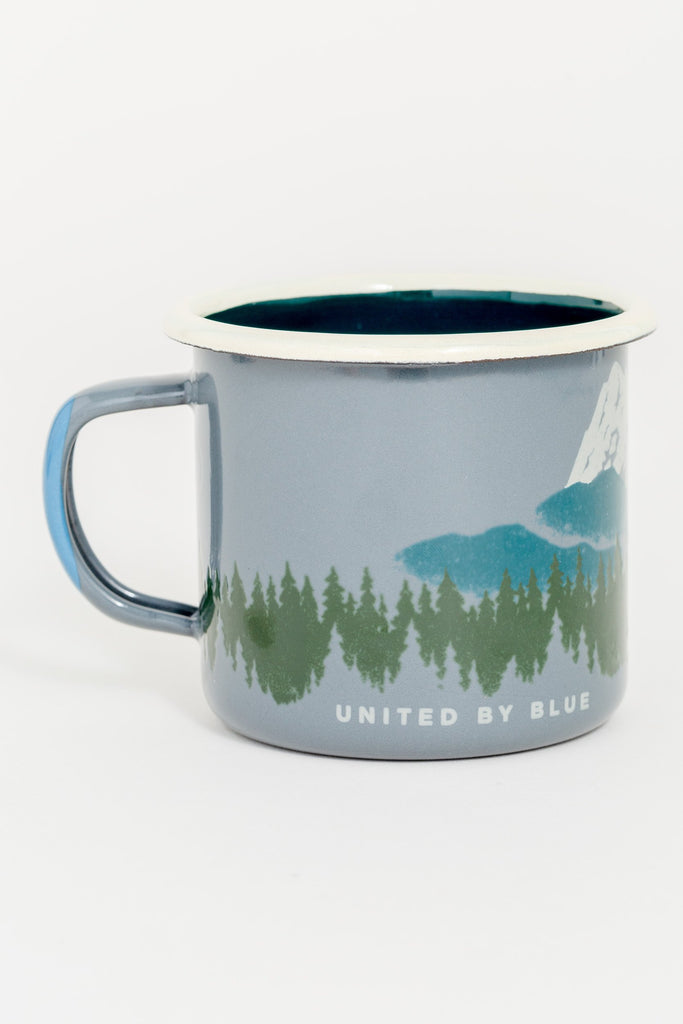 Deer Enamel Steel Mug 340ml