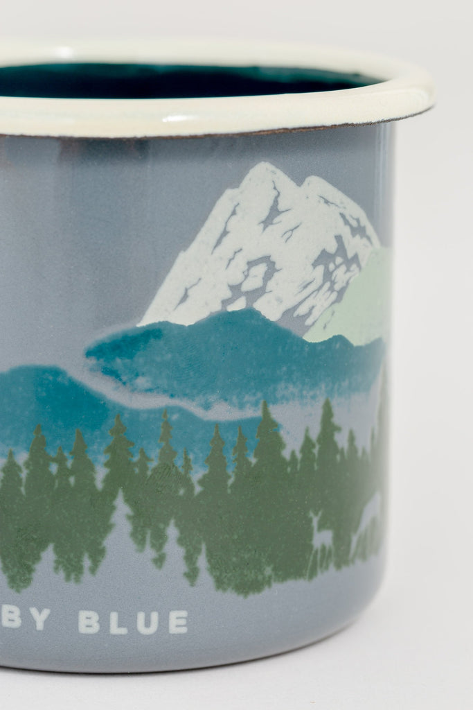 United By Blue - Deer Enamel Steel Mug - Camping Mug