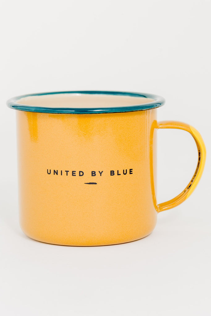 Pack up & go Enamel Steel Mug 650ml