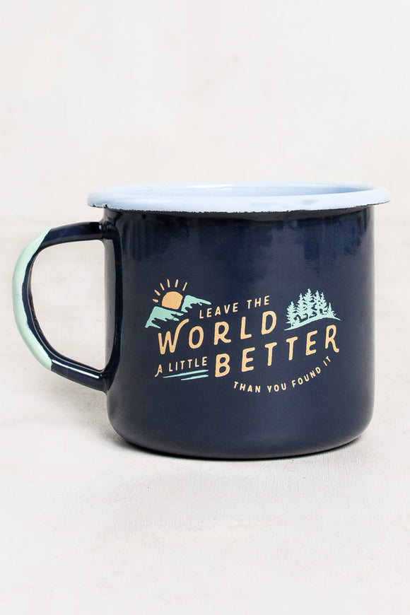 United By Blue 'Found' Enamel Mug | TheOutdoorBoutique.com