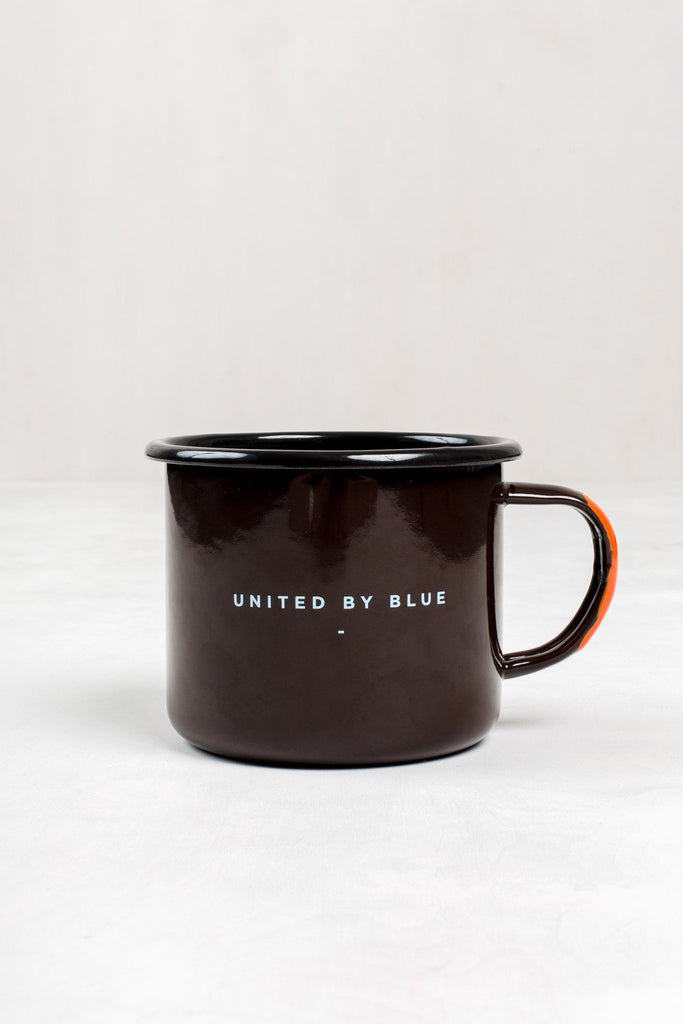 United By Blue The Mountains are Calling Enamel Steel Mug