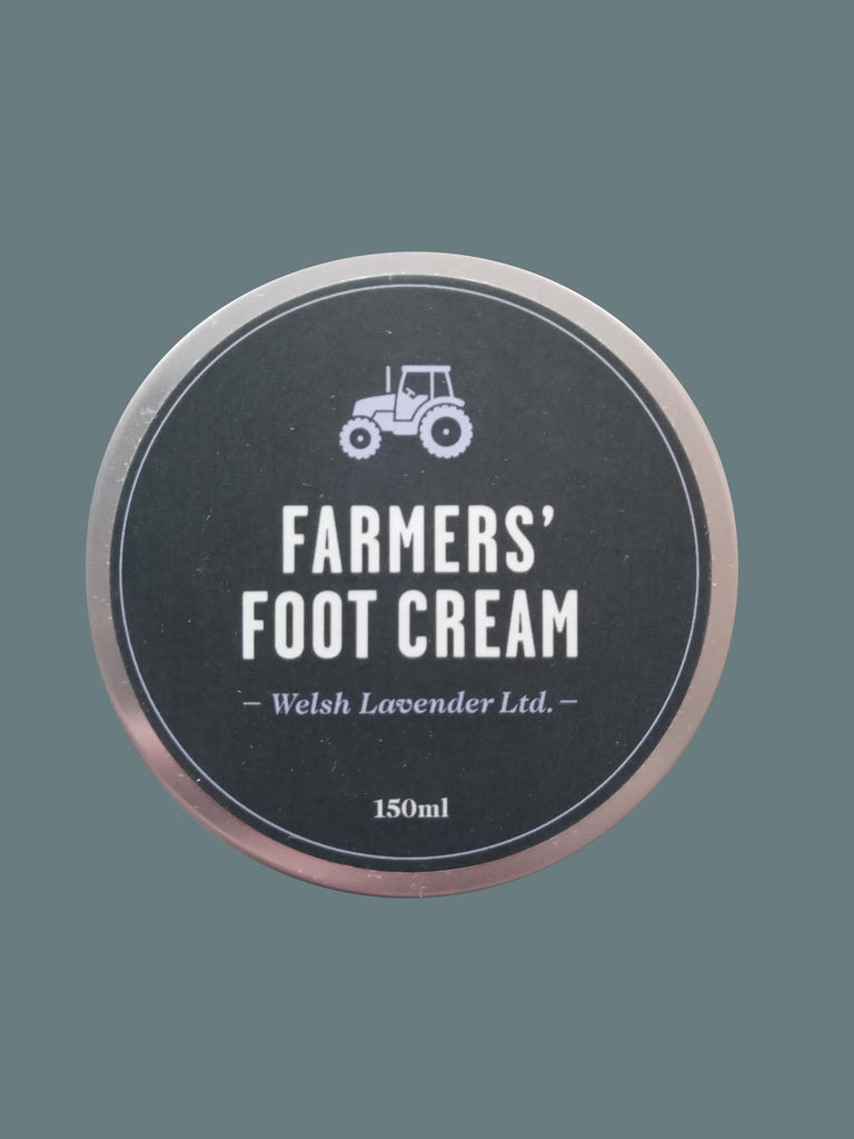 Farmers' Welsh Lavender - Natural Foot Cream (150ml)