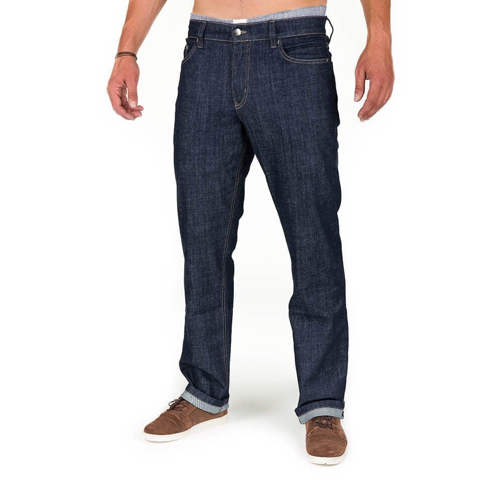 Men's Sustainable Denim Jeans - Eco Friendly, Vegan, Organic Cotton Jeans