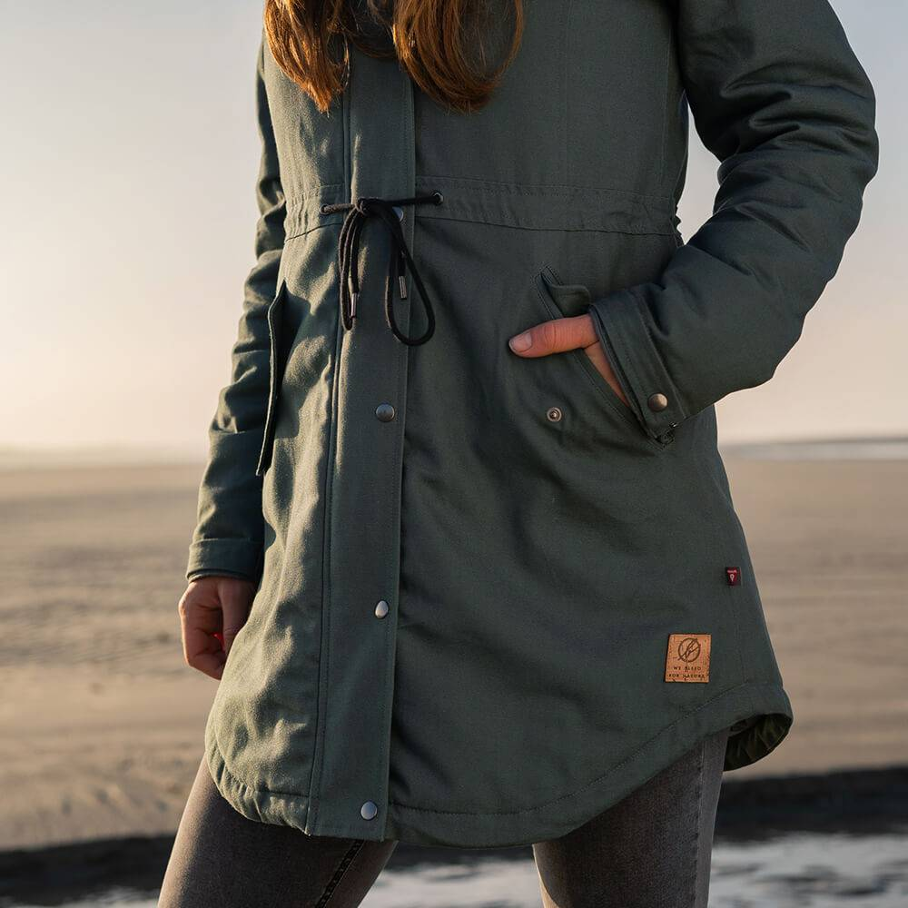 Bleed - Womens Guerilla Thermal Parka - Insulated Jacket