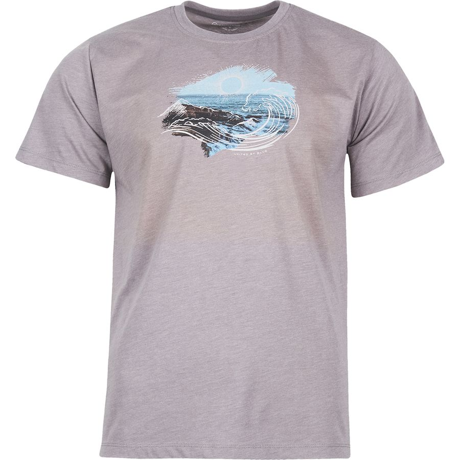 United By Blue - Mens High Tide T-shirt - Steel Grey