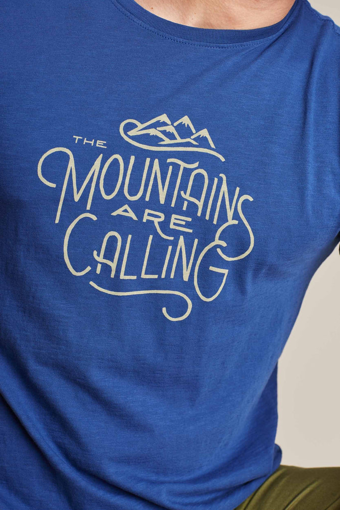 United By Blue - The Mountains Are Calling T-shirt - Navy