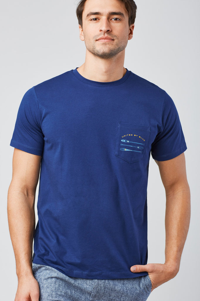 United By Blue - Mens Birds Eye Canoe S/S Tee - T-Shirt