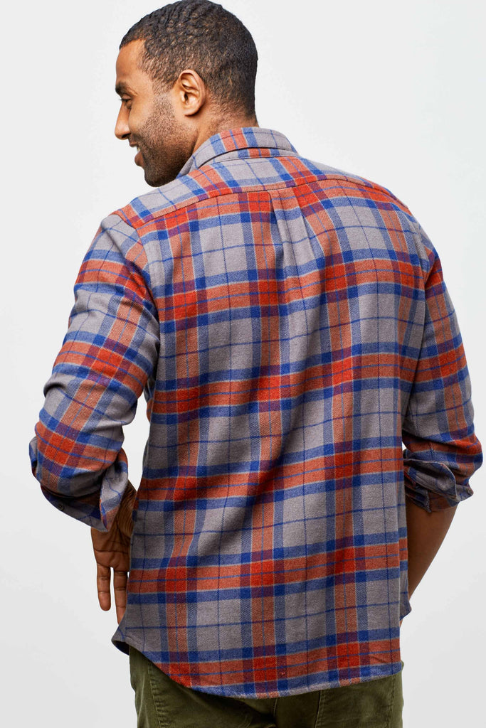 Mens Bridger Flannel Button Down Shirt