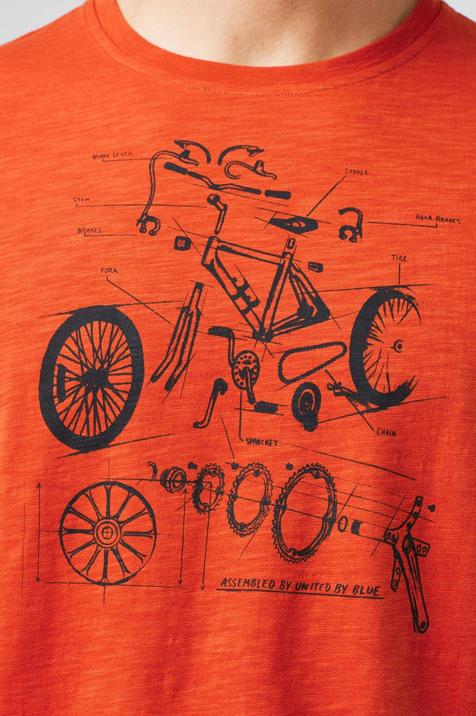 Mens Built To Ride Short Sleeve T-Shirt