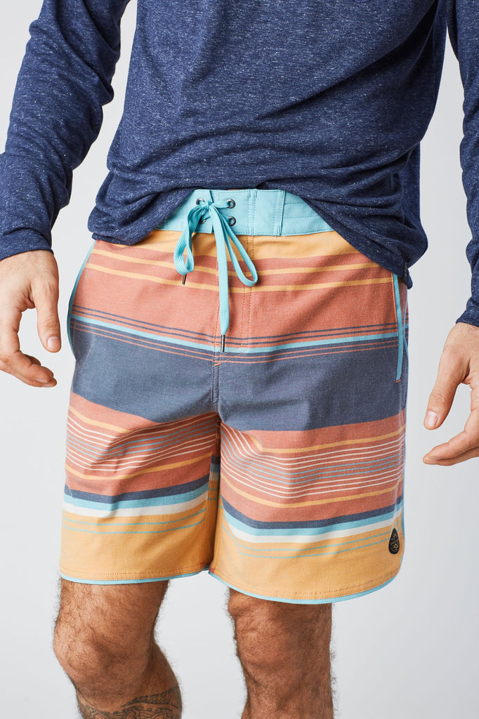 United By Blue - Mens Seabed Scallop Board Shorts - Swim Shorts