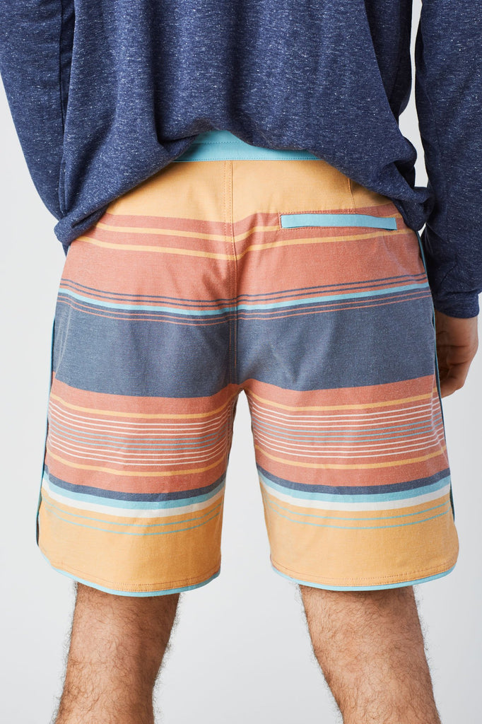 Mens Seabed Scallop Board Shorts