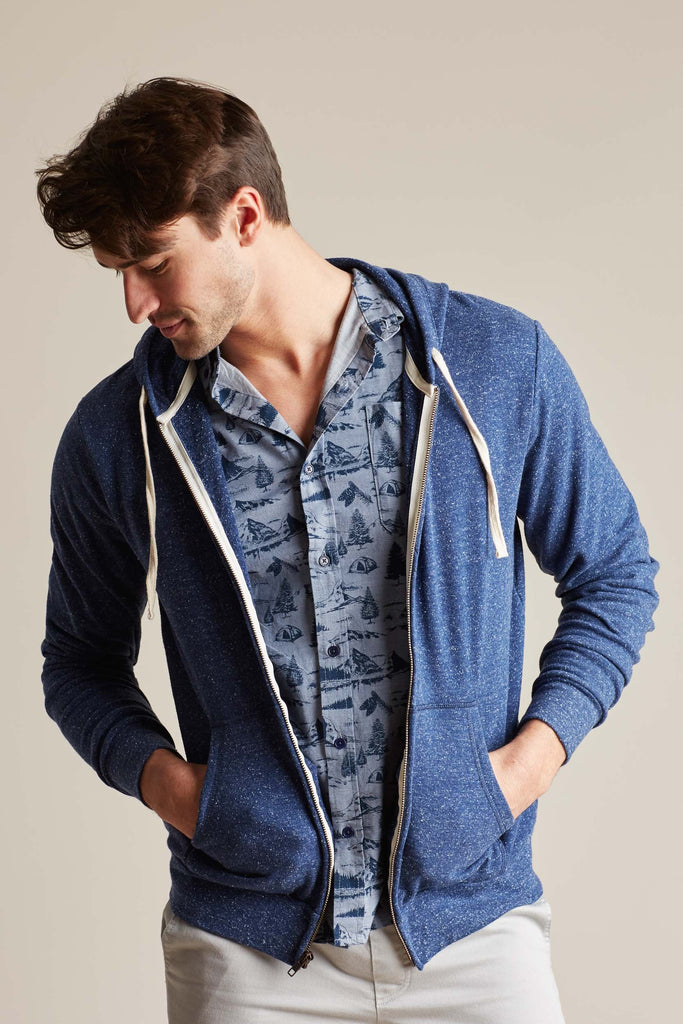 United By Blue - Sustainable Hoodie for Men - Colour Blue