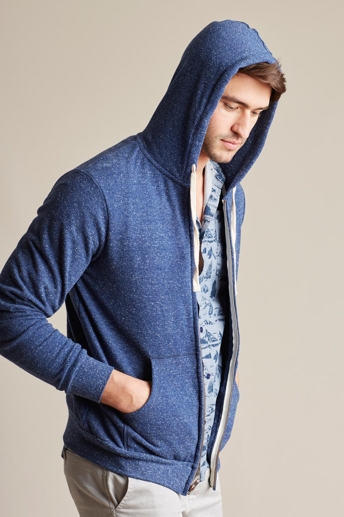 United By Blue Mens Standard Zip Up Hoodie | TheOutdoorBoutique.com