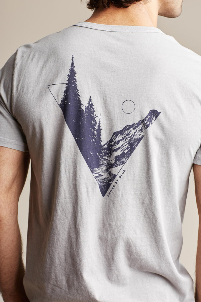 United By Blue - Mens Tree Angle Pocket Tee - T-Shirts