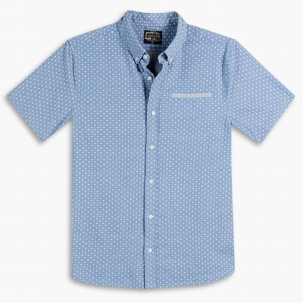 United By Blue Mens Wenlock Shirt - Blue | TheOutdoorBoutique.com