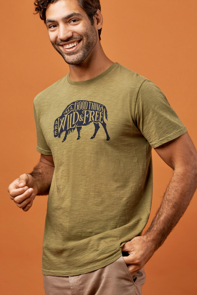 United By Blue - Mens Wild & Free T-shirt
