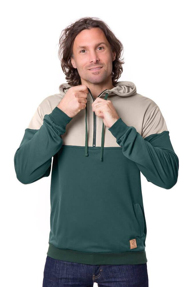 Bleed - Mountain Active Hoody Lyocell (Tencel) Green - Hoodies