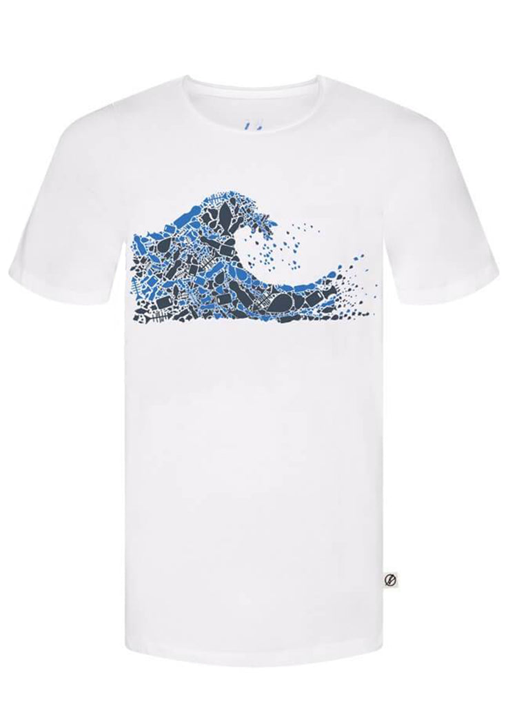 Bleed - Mens Plastic Wave T-Shirt - Mens T-Shirt