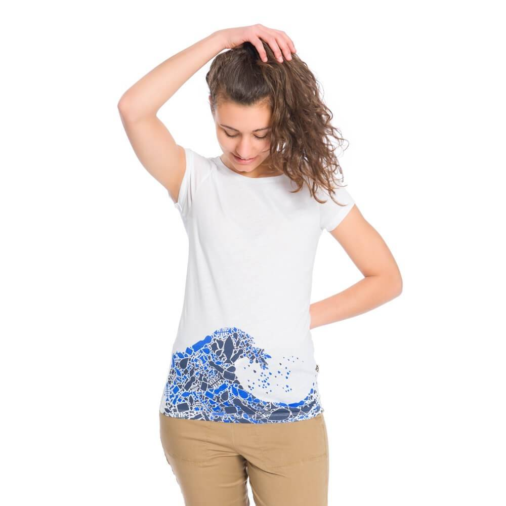 Bleed - Womens Plastic Wave T-Shirt