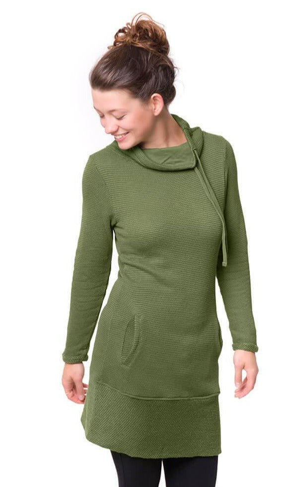 Bleed - Women's Toody Hoody Dress Green - Dress