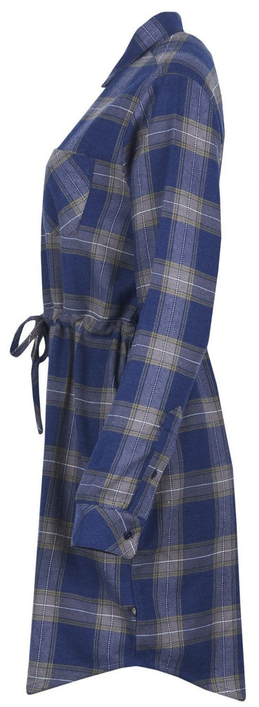 Flannel Dress - Plaid Shirt Dress - Moraine from United By Blue