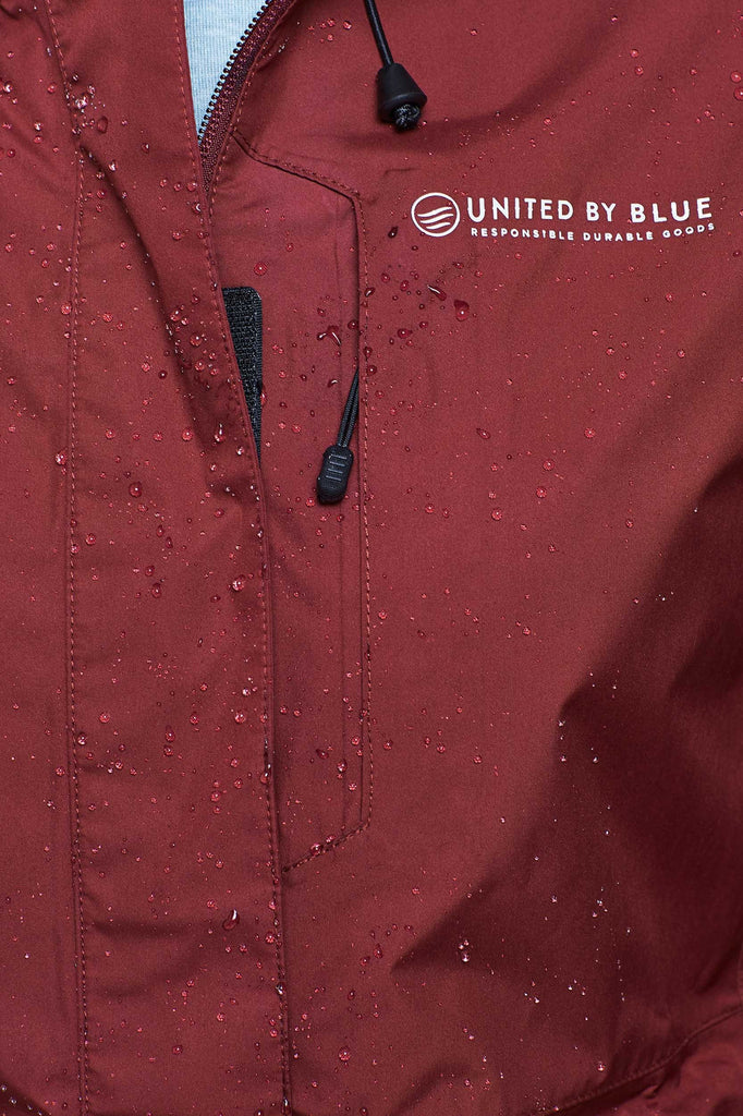 United By Blue - Womens Albright Waterproof Jacket - Outdoor Jackets