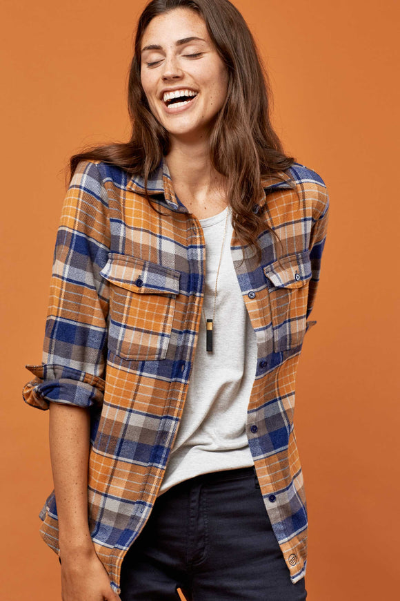 United By Blue - Womens Fremont Flannel Shirt