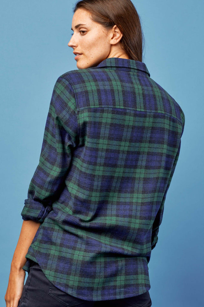 6abb364865 United By Blue - Womens Fremont Flannel Shirt
