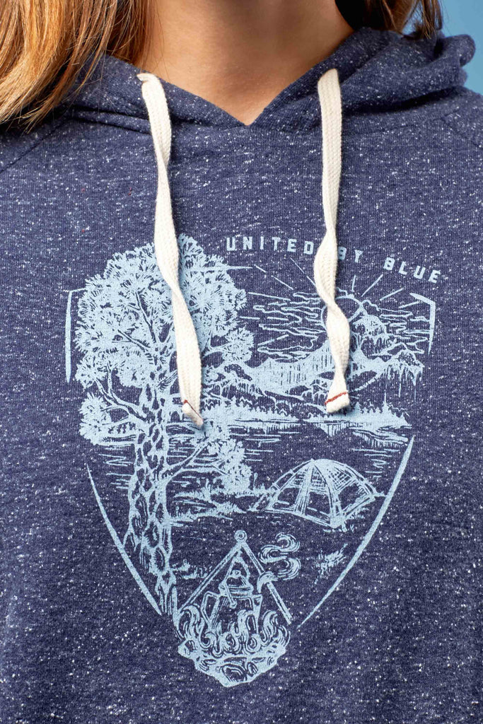 United By Blue - Womens Parks Pennant Hoodie - Hoodies