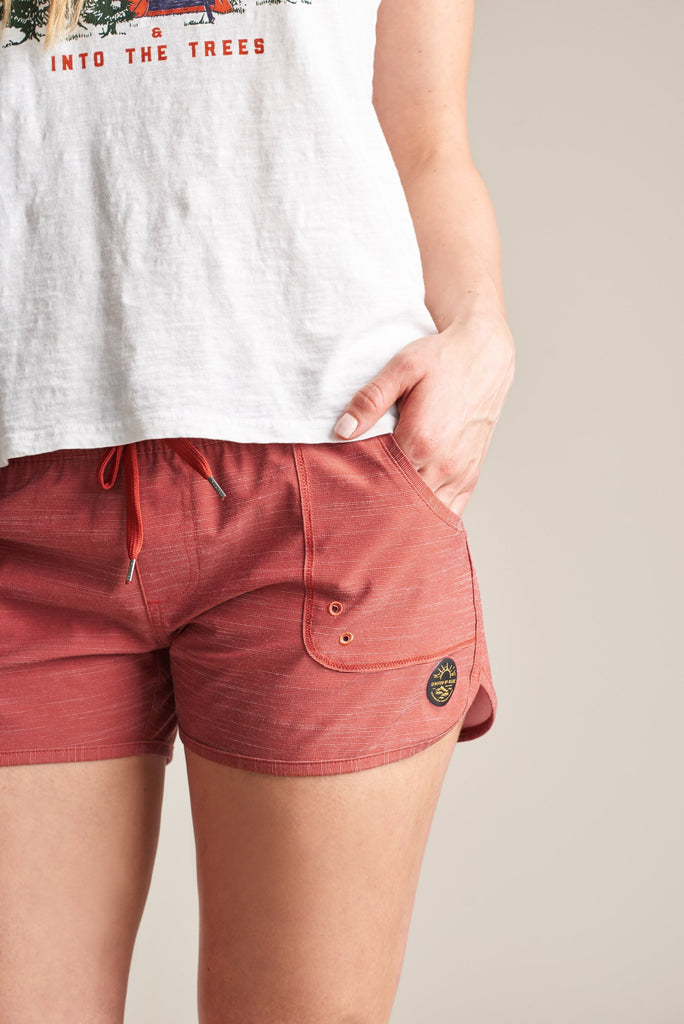 United By Blue - Womens Westray Shorts Clay - Shorts